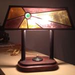 Réparation lampe tiffany
